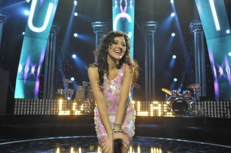 Lucía Pérez representante de España en Eurovision 2011 en Düsseldorf