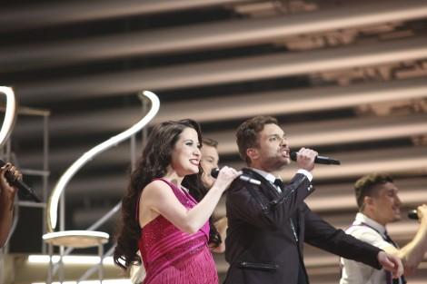 Electro Velvet, representantes de Reino Unido en Eurovision 2015. (Thomas Hanses - EBU)